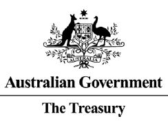 Australian Government Coat of Arms, Treasury